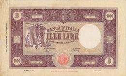 ITALIA - 6/3/1944 - REPUBBLICA SOCIALE ITALIANA - LIRE 1000 - - 1000 Lire