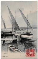 Genève : Le Port (Editeurs Droz & Warnery, D.&W. N°1006) - GE Genève