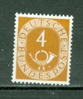 RFA    Yvert  10  Ou Michel   124   * *  TB - [7] República Federal