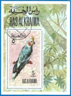 Ras Al-Khaima 1972 Year, Used Block - Ras Al-Khaima