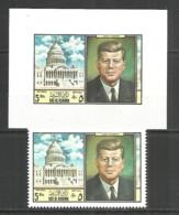 United Arab Emirates Ras Al Khama Mint Stamps Kennedy - Ra's Al-Chaima