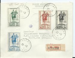 FRANCE - MAROC -lettre Recommandée Au Départ De BERKANE - Marruecos (1891-1956)
