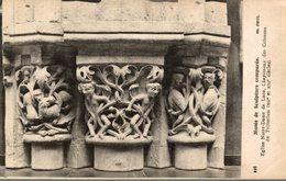 02 MUSEE DE SCULPTURE COMPAREE  EGLISE DE NOTRE-DAME DE LAON  CHAPITEAU DES COLONNES DU TRIFORIUM - Laon