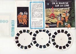 Hergé, Pochette View Master - Complète - Hergé