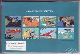 Hergé, Lot De Cartes Hachette Collection - Hergé