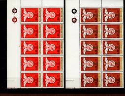 933 - 934 Benfica Lissabon Im 10er Eckrand Block **  Postfrisch MNH Neuf - 1910-... República
