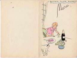 FRANCE - 1947 - Menu De Noël - Menu
