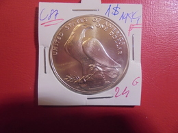"""U.S.A 1$ 1984 """"P"""" ARGENT   (A.4) - Federal Issues"""