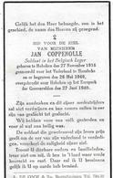 Coppenolle Jan (gesneuveld (hoboken 1916 -hansbeke 1940) - Religión & Esoterismo