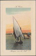 Barque Sur Le Nil, Le Caire, C.1905-10 - Lévy CPA - El Cairo
