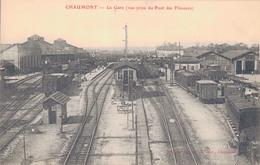 52 - CHAUMONT / LA GARE - VUE PRISE DU PONT DES FLANEURS - Chaumont