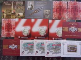 AUTRICHE LOT DE 14 BLOCS NEUF** DEPART 1 EURO - Blocks & Sheetlets & Panes