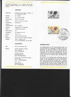 BELGIO   -  1979 Giovani Filatelici -Youth Philately- Tintin & Snowy - FDC