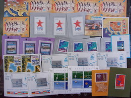 YOUGOSLAVIE LOT DE 30  BLOCS NEUF** DEPART 1 EURO - Blocks & Sheetlets