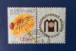 Slovakia 2014, Mi. 739 With Tab, Rund Gestempelt, Fine Used, Usato - Slovakia