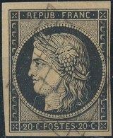 FRANCE - 1849, Mi 3, Yt 3, 20c Ceres, Oblitére - 1849-1850 Cérès