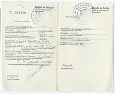 Ticket D'entrée Tourisme En Espagne 1959 - Autres