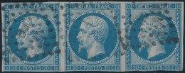 FRANCE - 1854, Mi 13, Yt 14, 20c Napoleon III, Oblitére, Signed - 1853-1860 Napoleon III