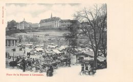 Lausanne - Place De La Riponne Avant La Construction Du Palais Rumine - VD Waadt