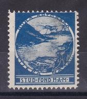 Montenegro Yugoslavia 1930's Boka Kotorska Croatia Student Charity Tax Surchage Label Cinderella Stamp - Croatia