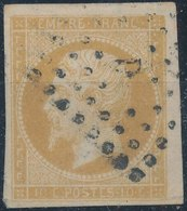 FRANCE - 1860, Mi 12, Yt 13, 10c Napoleon III, Oblitére, Signed - 1853-1860 Napoléon III