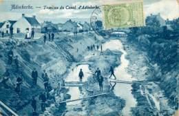 Belgique - La Panne - Adinkerke - Travaux Du Canal D'Adinkerke - De Panne