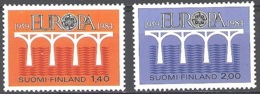 Finland 1984 Michel 944 - 945 Neuf ** Cote (2017) 6.00 Euro 25 Ans Europa CEPT - Neufs