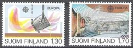 Finland 1983 Michel 926 - 927 Neuf ** Cote (2017) 10.00 Euro Europa CEPT Grandes Ouevres Du Génie Humain - Neufs