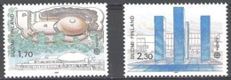 Finland 1987 Michel 1021 - 1022 Neuf ** Cote (2017) 9.00 Euro Europa CEPT Architecture Moderne - Neufs