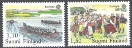 Finland 1981 Michel 881 - 882 Neuf ** Cote (2017) 4.20 Euro Europa CEPT Le Folklore - Neufs