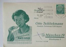 Werbung Reklame Tee Mate-Gold Deutschland 1957 (29141) - Postzegels
