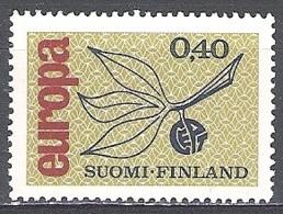 Finland 1965 Michel 608 Neuf ** Cote (2017) 2.05 Euro Europa CEPT - Finlande
