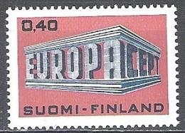 Finland 1969 Michel 656 Neuf ** Cote (2017) 4.75 Euro Europa CEPT Temple - Finlande