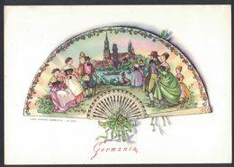 NN89    Ventaglio Germania, Illustratore Edina Altara - Otros Ilustradores