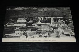 9025      LES MOLIERES, L'EGLISE, VUE D'AVION - France