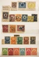 Haiti 1898-1915 23 Francobolli Misti Nuovi Usati COD.FRA.1275 - Haiti
