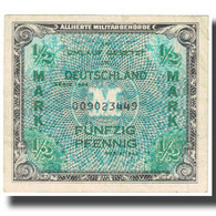 Billet, Allemagne, 1/2 Mark, 1944, KM:191a, TTB - [ 5] Ocupación De Los Aliados