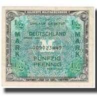 Billet, Allemagne, 1/2 Mark, 1944, KM:191a, TTB - 1/2 Mark