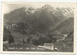 Y4858 Foppolo (Bergamo) - Alta Valle Brembana - Panorama / Viaggiata 1954 - Altre Città
