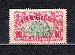 REUNION   N° 60     OBLITERE   COTE 0.40€    CARTE DE L'ILE - Isola Di Rèunion (1852-1975)