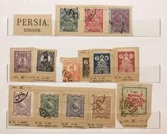 Persia 40 Francobolli Nuovi Usati 1891-1902 Cran Chahi COD.FRA.1277 - Iran