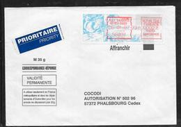 1712001 - LETTRE DE NOUMEA DUCOS (NOUVELLE CALEDONIE) DU 06/01/87 POUR PHALSBOURG - Marcophilie (Lettres)
