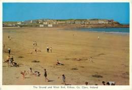 Irlande - Clare - Kilkee - The Strand And West End - Scènes De Plage - Ireland - Voir Scans Recto-Verso - Clare