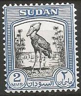 Sudan - MH- 1951- Family SHOEBILL- Shoebill (Balaeniceps Rex) - Unclassified
