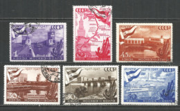 Russia USSR 1947 Year, Used Stamps Set - Used Stamps