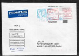 1712003 - LETTRE DE NOUMEA RP (NOUVELLE CALEDONIE) DU 24/01/97 POUR PHALSBOURG - Marcophilie (Lettres)