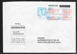 1712005 - LETTRE DE MONT DORE (NOUVELLE CALEDONIE) DU 15/04/97 POUR PHALSBOURG - 1961-....