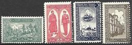 Turkey  1940  Sc#859-62 Set MH   2016 Scott Value $5.25 - 1921-... Republik