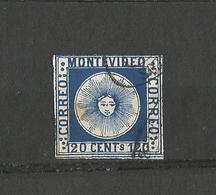 Timbre Uruguay - Sperati Forgery Montevideo 120 Centesimos Rare Stamp - Uruguay