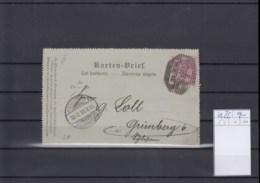 Österreich Ganzsache Michel Kat.Nr. Gest K26 - Interi Postali